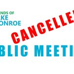 Public Meeting Cancelled